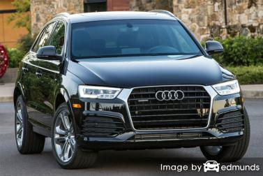 Insurance quote for Audi Q3 in Los Angeles