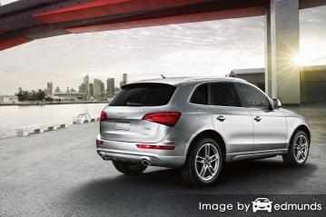 Insurance rates Audi Q5 in Los Angeles
