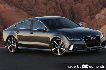 Insurance rates Audi RS7 in Los Angeles