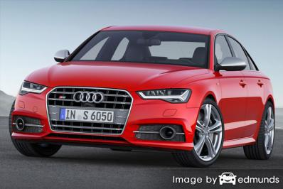 Insurance rates Audi S6 in Los Angeles