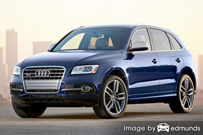 Insurance rates Audi SQ5 in Los Angeles