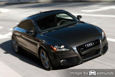 Insurance quote for Audi TT in Los Angeles