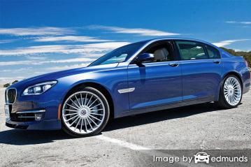 Insurance rates BMW Alpina B7 in Los Angeles