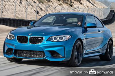 Insurance quote for BMW M2 in Los Angeles