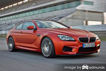 Insurance rates BMW M6 in Los Angeles