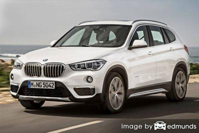 Insurance quote for BMW X1 in Los Angeles