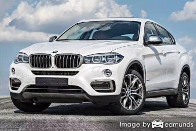 Insurance rates BMW X6 in Los Angeles