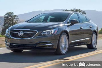 Discount Buick LaCrosse insurance
