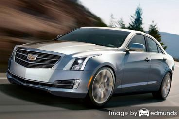 Insurance rates Cadillac ATS in Los Angeles