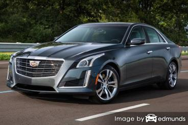 Insurance quote for Cadillac CTS in Los Angeles