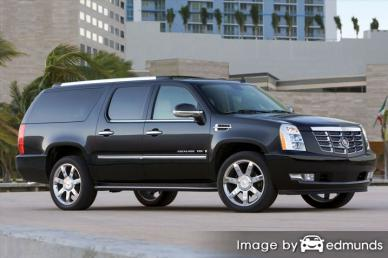 Insurance rates Cadillac Escalade ESV in Los Angeles