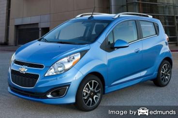 Discount Chevy Spark insurance