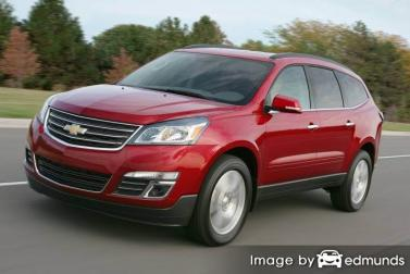 Insurance quote for Chevy Traverse in Los Angeles