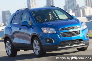 Insurance rates Chevy Trax in Los Angeles