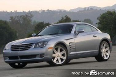 Insurance rates Chrysler Crossfire in Los Angeles