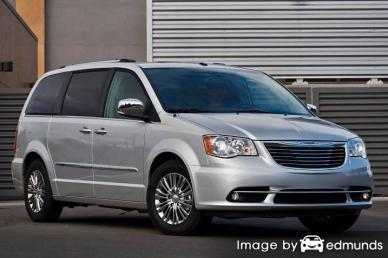 Discount Chrysler Town and Country insurance