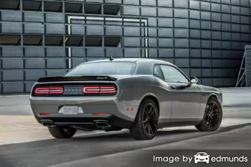 Insurance quote for Dodge Challenger in Los Angeles