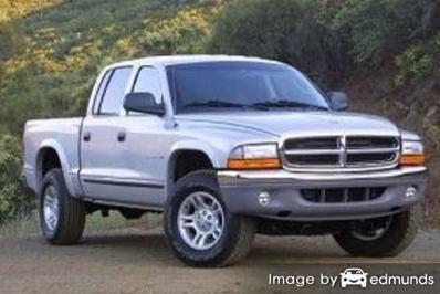 Insurance quote for Dodge Dakota in Los Angeles