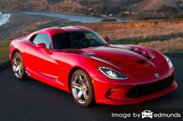 Insurance rates Dodge Viper in Los Angeles