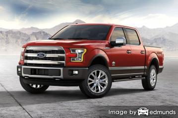 Insurance quote for Ford F-150 in Los Angeles