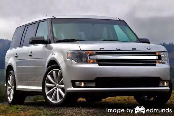 Insurance rates Ford Flex in Los Angeles