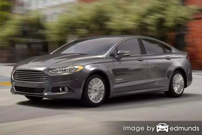 Insurance quote for Ford Fusion Hybrid in Los Angeles