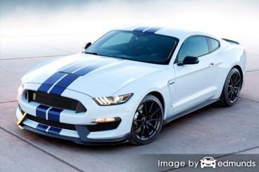 Discount Ford Shelby GT350 insurance