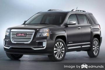 Insurance quote for GMC Terrain in Los Angeles