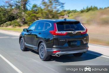 Insurance quote for Honda CR-V in Los Angeles