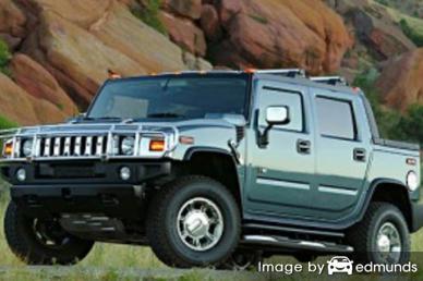 Insurance quote for Hummer H2 SUT in Los Angeles