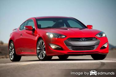 Insurance quote for Hyundai Genesis in Los Angeles