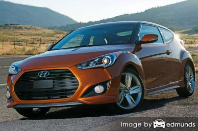 Insurance rates Hyundai Veloster in Los Angeles