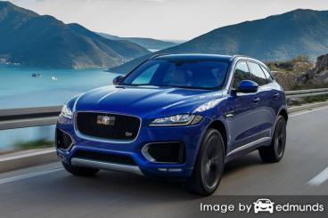 Insurance rates Jaguar F-PACE in Los Angeles