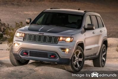 Insurance quote for Jeep Grand Cherokee in Los Angeles