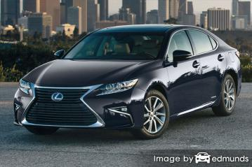 Insurance rates Lexus ES 300h in Los Angeles