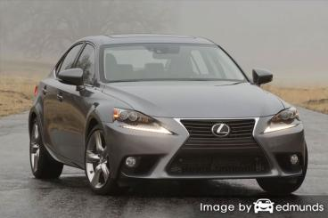 Insurance quote for Lexus IS 350 in Los Angeles