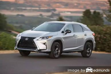 Insurance rates Lexus RX 350 in Los Angeles