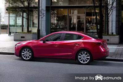 Insurance quote for Mazda 3 in Los Angeles