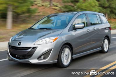 Insurance rates Mazda 5 in Los Angeles