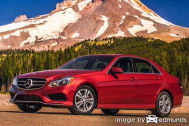 Insurance rates Mercedes-Benz E350 in Los Angeles