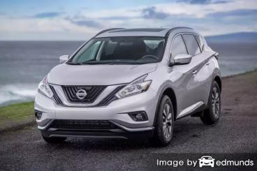 Insurance rates Nissan Murano in Los Angeles