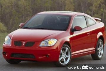Insurance quote for Pontiac G5 in Los Angeles