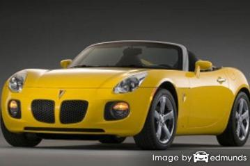 Insurance quote for Pontiac Solstice in Los Angeles