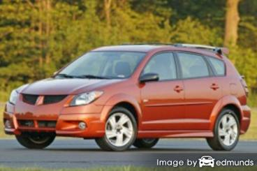 Insurance quote for Pontiac Vibe in Los Angeles