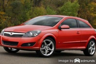 Insurance rates Saturn Astra in Los Angeles
