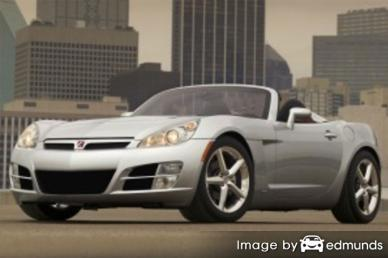Insurance rates Saturn Sky in Los Angeles