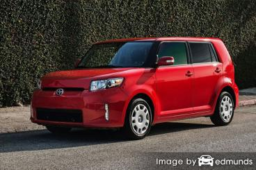 Insurance rates Scion xB in Los Angeles