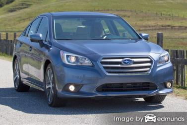 Insurance quote for Subaru Legacy in Los Angeles