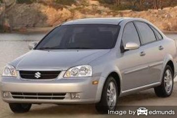 Insurance quote for Suzuki Forenza in Los Angeles