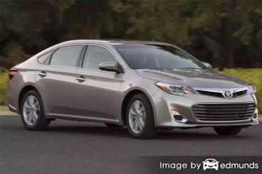 Insurance quote for Toyota Avalon in Los Angeles